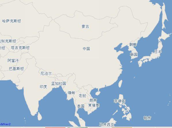 中国人不可不看的1930年旧中华民国地图-心情故事-网
